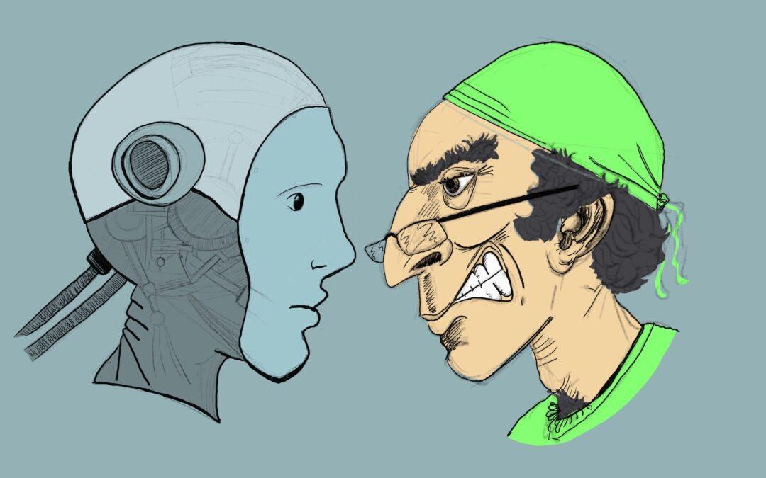 Es mejor operarse con el robot?